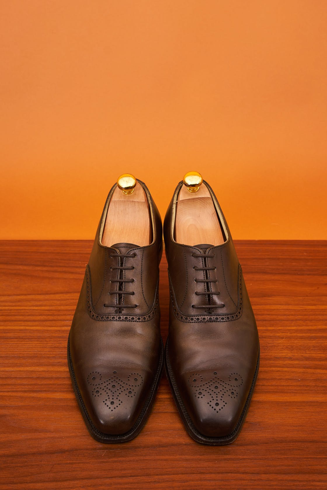 Crockett & Jones Edgware Brown Calf Oxford