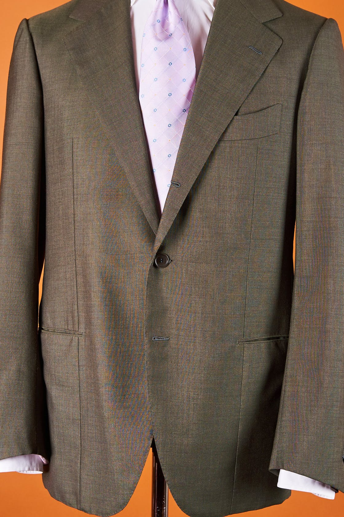 Ciccio Grey Green Wool Sport Coat Bespoke
