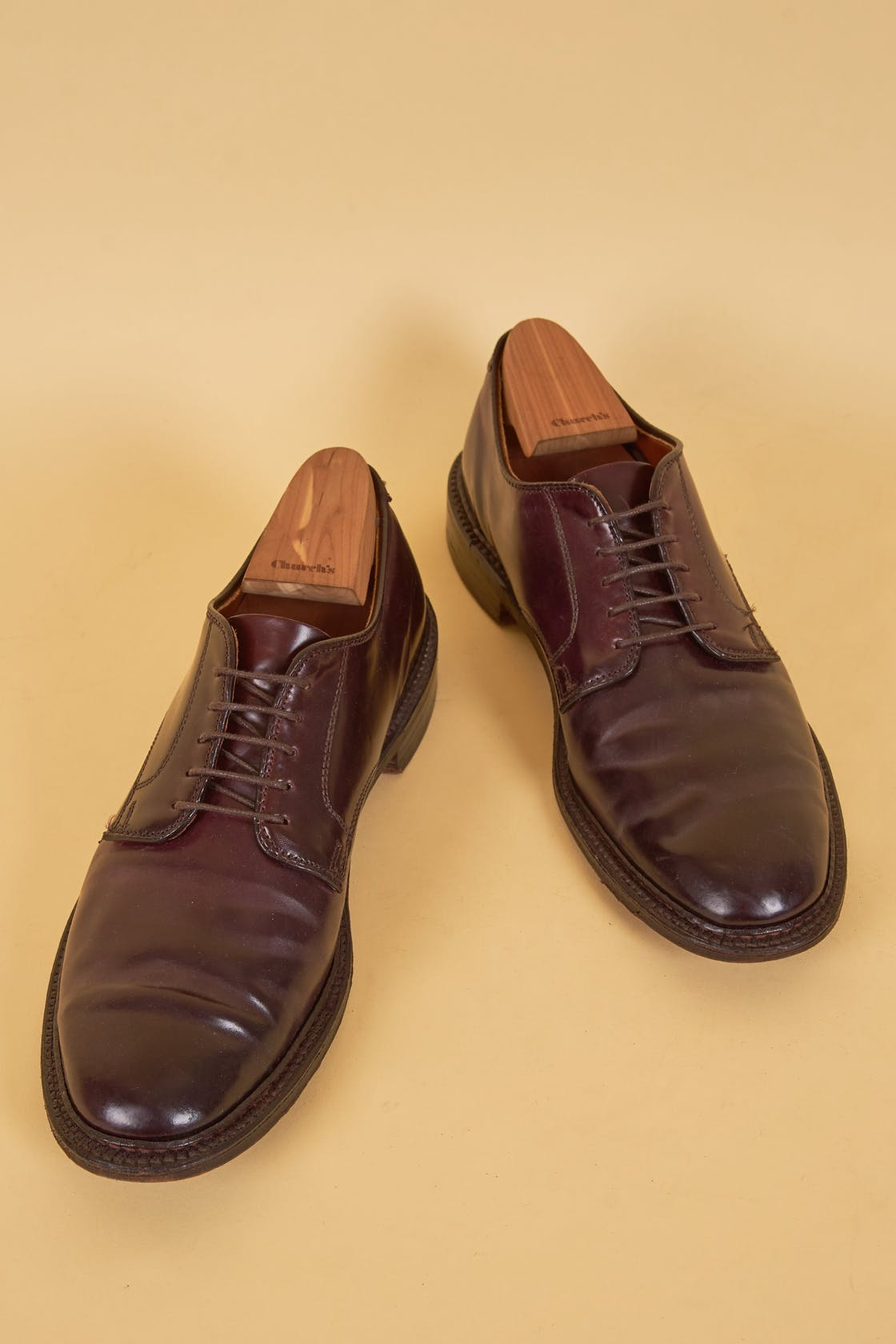Alden Deep Purple Cordovan Derby Shoes