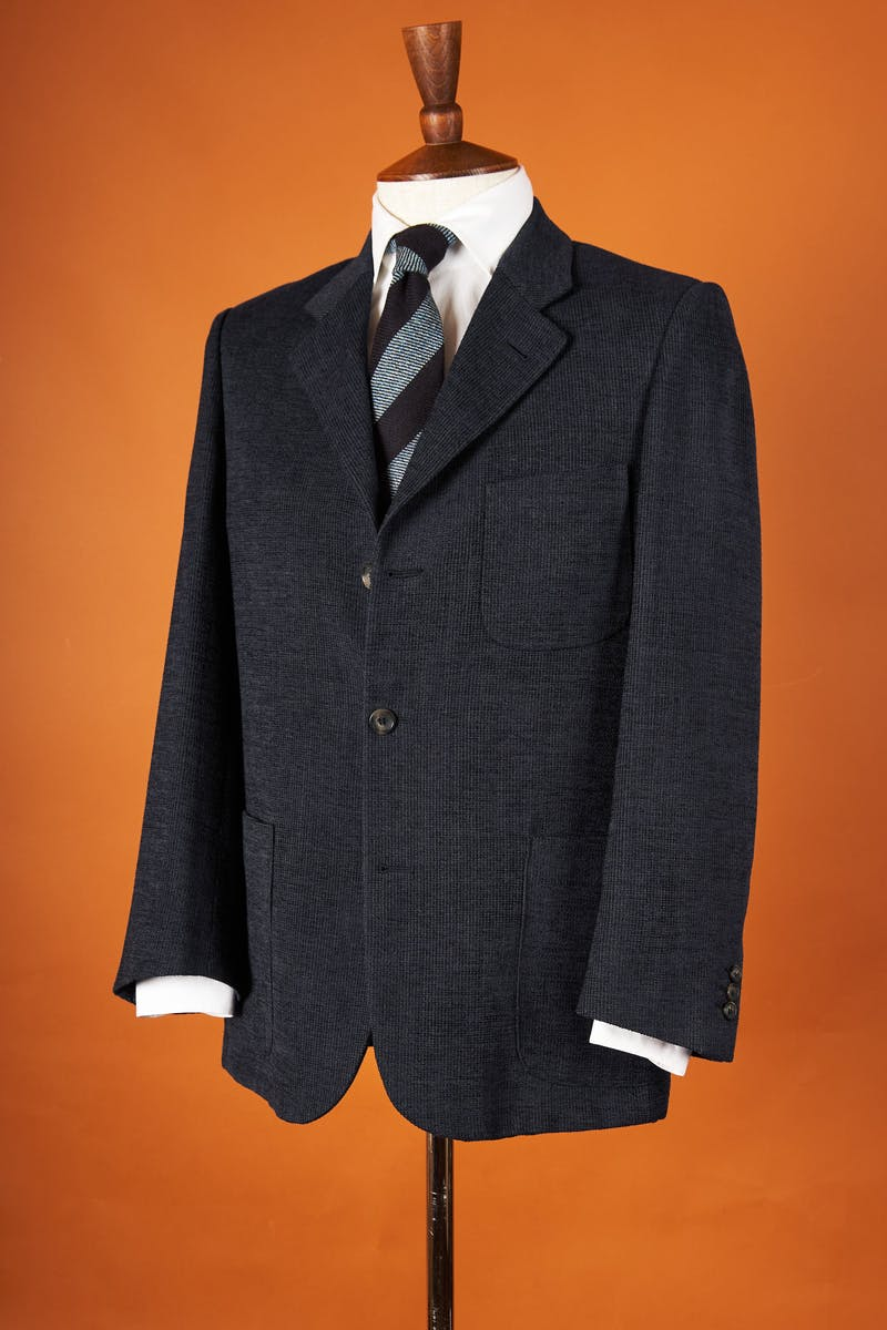 Pal Zileri Navy Stripe Wool Sport Coat