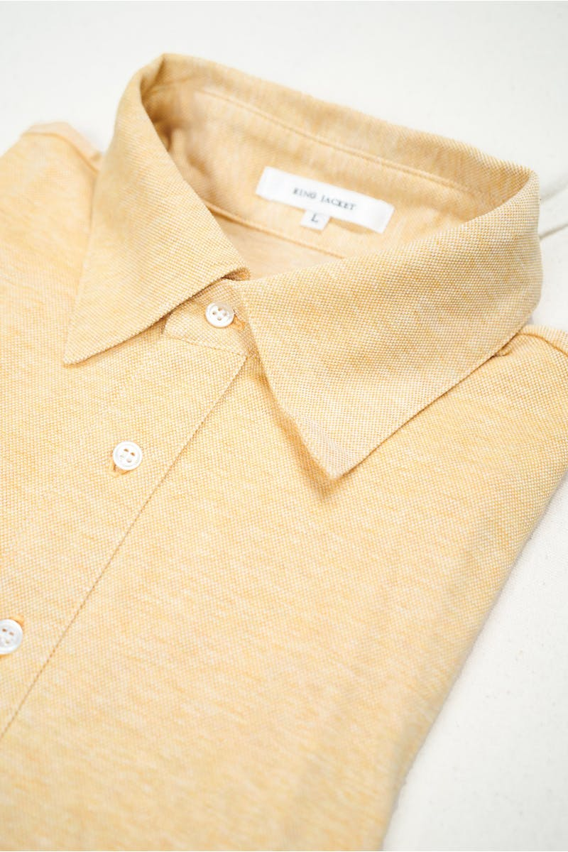 Ring Jacket Orange Melgnage Cotton Short Sleeve Polo Shirt *sample*