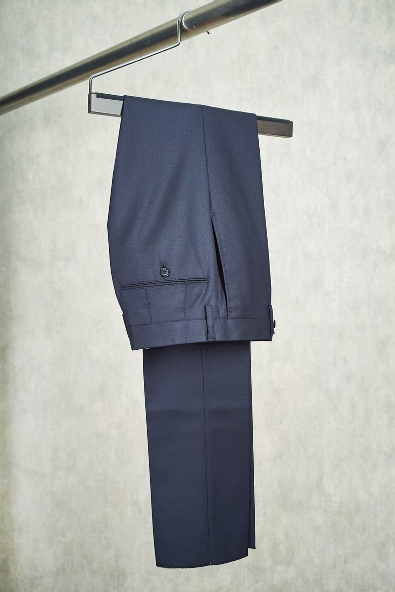 Ring Jacket S166 Navy Wool Trousers