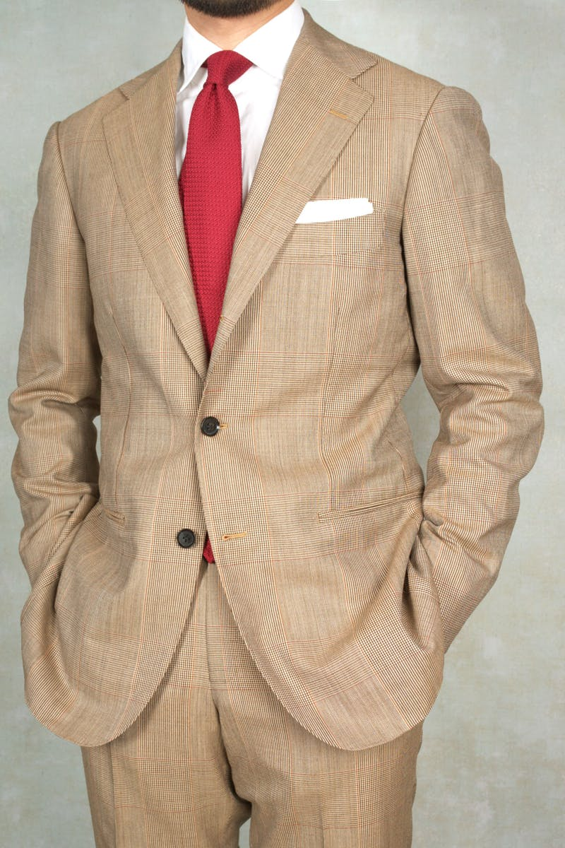 Permanent Style's Picks - Ring Jacket Meister 253H Brown Wool Check Suit